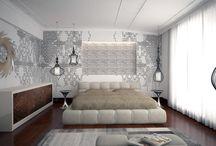 Yatak Odası Dekorasyonu / #yatakodası #dekorasyon #tasarım