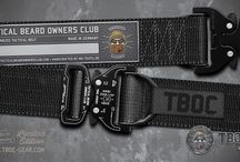 """TBOC GEAR / Premium equipment for members only: A beard is a sign of strength and endurance that you can rely on. The same is true for specialized equipment that is made by bearded men. It simply raises the quality over the beardless brands. We are not talking about some """"club merchandise"""" but premium gear you can count on in the most adverse situations."""