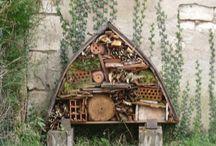 Hmyzí hotel / Úkryty pro hmyz, inspirace