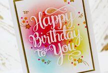 CASE - Birthday / by Julie Walker