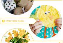 Påskpyssel / Easter Crafts