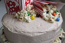 Movie night cake