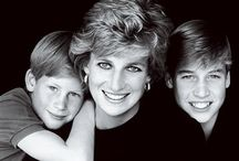 Diana & her loving sons William and Harry / Diana Frances;(fn 1) née Spencer, 1 July 1961 - 31 August 1997, was a good mother to William and Harry. She was a beautiful lady. Harry's Letter to his mom with her funeral