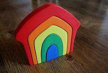 Wooden montessori toys / Handmade by Ajart
