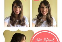 Mom Style: Quick Hairstyles & Makeup / Quick and chic hairstyles for busy mommas. How to curl your hair, do a perfect messy bun, braid short hair, etc. // hair // long // short // medium // fast // easy // how to // styling // simple // chic // fall // winter // summer // spring // casual