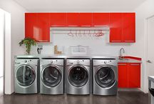Laundry Room Design / Beautiful, Modern and functional Laundry Rooms designed by Dresner Design in Chicago, IL