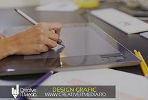 Design Grafic / Design Grafic Creativ: realizare logo-uri, sigle companie, meniuri, brosuri, invitatii etc.