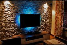 Wand anleuchten/ Fernseher