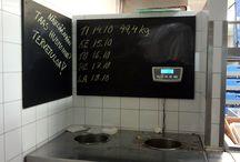 Ravintola konsepti idea