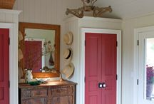 Red Paint / Loads of great furniture and decor pieces painted with red paint. / by Domestically Speaking