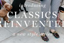 Classics Reinvented / Some of the most stylish people in the Sperry universe are the ones who can take our classic shoes and rock them in a fresh way.  We call it Classics Reinvented. (You'll call it your seasonal style inspiration.) / by Sperry