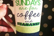 SEAHAWKS!!!!! / by Nikki