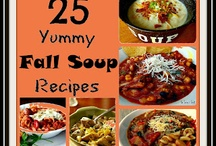 Soups and Stews / Warm soups and stews for those cold winter days.