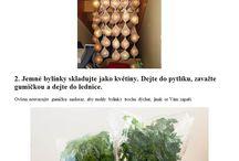 uchovávání potravin,bylinek....
