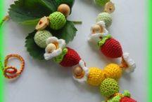 Knitted bright and warm beads for you! Done with the soul! / Вязаные бусы, слингобусы, мама-бусы, кормительные бусы, развивающие бусы -на заказ и в наличии.