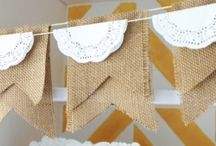Craft Inspiration - Burlap / by Elisha Cardamone