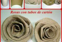 Tubos de papel higiénico