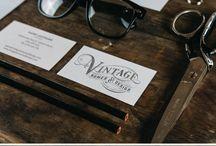 Vintage Logo Designs / Highly-Detailed Vintage Logo Designs