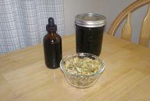 home remidies, Herbal medications / by Heather DePoppe
