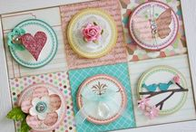 Scrappy Embellies / Individual embellishment ideas for scrapbook pages, cards, swaps or crafty projects.