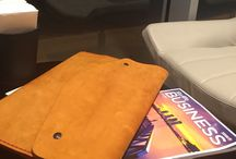 Laptop-Ipad Cases / Humla Atelier & Co  Leather and wool felt handmade products