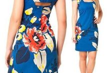 vestido azul