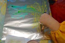 peinture sur alu
