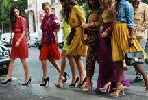 women's fashion & style / by Christa Al Buainain