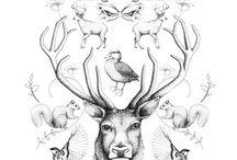woodland tattoos