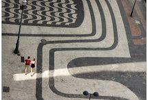 Rio de Janeiro . Sidewalks