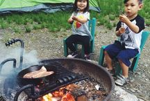 Festival camping with kids / Festival camping with kids