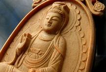 Mala beads and Buddha