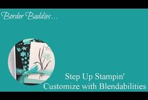 Border Buddies Stamping Videos / by Stamps to Die For, Patsy Waggoner