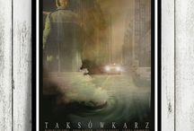Piotr Lukaszewski - movie poster art / Piotr Łukaszewski - original movie poster design
