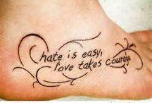 Tattoos  / by Amber Sylvia