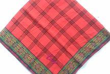 Vintage Autenthic Kenzo Handkerchief 17.5 Inch