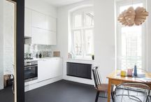 Black Floors Ideas