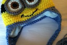 gorro minion crochet