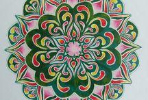 Mandalas pintadas