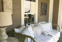 Porches / Inspiration for my upcoming back porch makeover