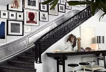 Unique Hallways and Art Displays
