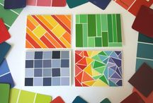 Crafting (Paint Chips) / by Vickie Tagatz
