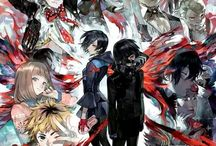 Tokyo Ghoul / Oshiete oshiete yo.. *sobsss*   Yeah, a great anime by Sui Ishida. I love almost all of the characters #PRAYFORHIDE