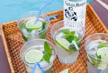 Drinks with Rum! Yum yum.