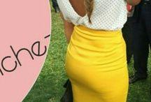 de amarillo