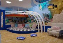 Kids creative room design