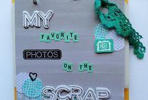 """Mini album """"my favorite photos on the  scrap"""""""