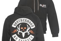 The Bone Shed / Whether your checking trail cameras or heading to church, everyone needs some casual Brotherhood Apparel!