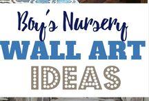 Baby Kellans nursery room