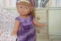Vêtements pour Mini Corolline / Tricot, crochet, couture